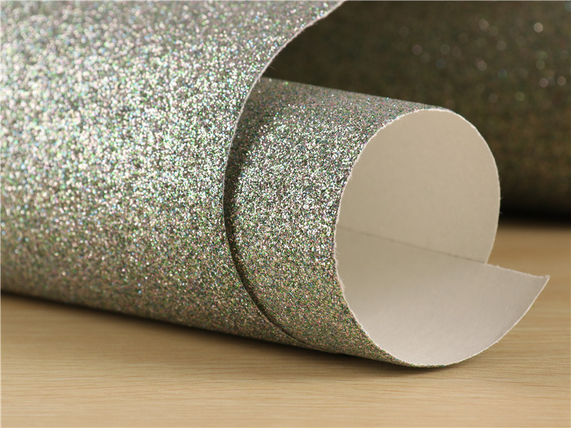 0 53 10m Glitter Wallpaper Surface Does Not Drop Powder 1 128 Flash Powder Rough 3D Effect in Wallpapers from Home Improvement