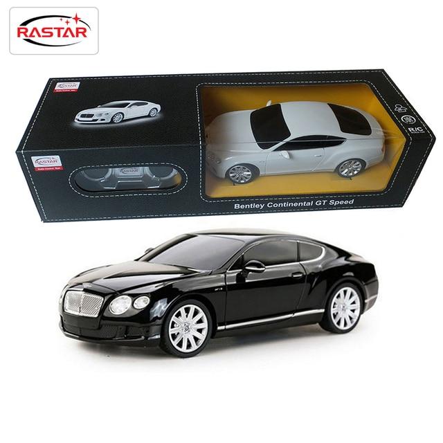 Licencia bentley rastar 1:24 escala rc cars toys control de radio control remoto de coches de niños niñas toys para niños regalos de cumpleaños 48600