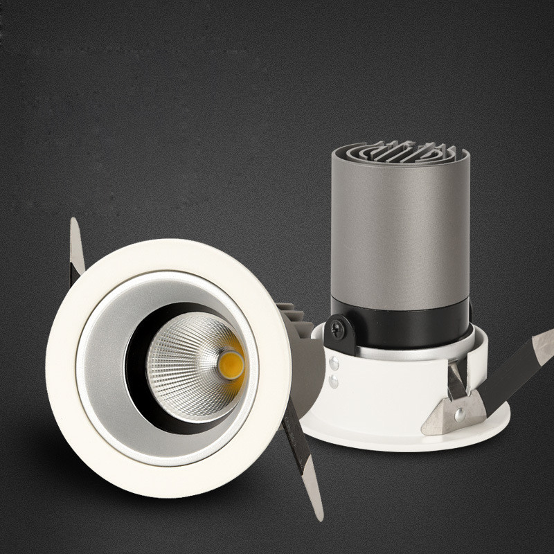 Fanlive 15PCS/lot New COB Downlight 10W 15W AC85-265V Cree Wall Washer Lamp Spot Lighting For Background Hotel Clothing Store