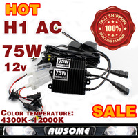 75W Xenon HID Kit Car Headlight H1 H3 H7 H8 H9 H10 H11 9005 HB3 9006