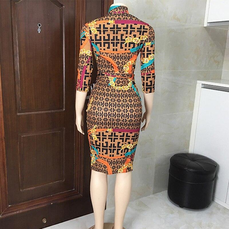 Discount╪Fashionable Sexy Bodycon Bandage Women Dress Half Sleeve Summer Sexy dresses party night club dress 2019 Plaid Print Dress