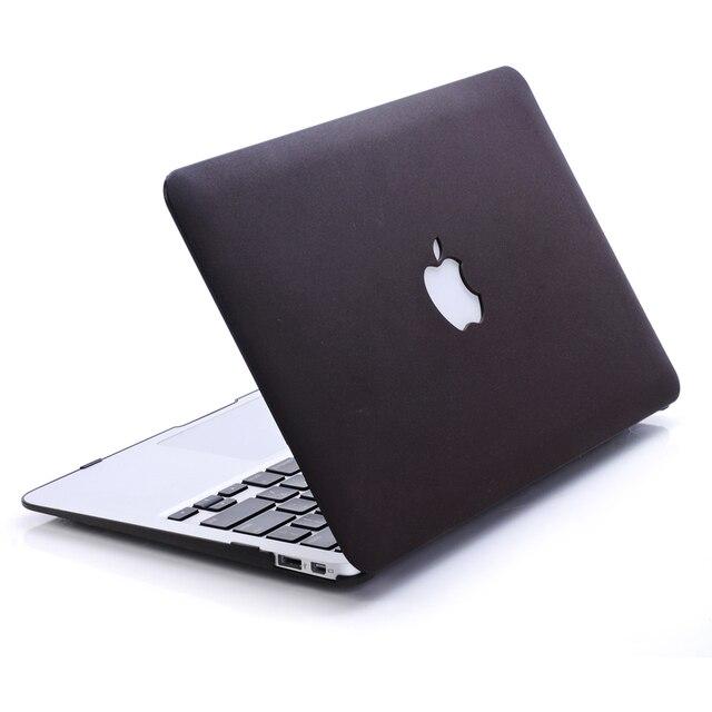 Компьютерный Корпус Логотип Cut Для Apple Macbook Pro Air Retina 11 12 13 15 Ноутбук Прозрачный Матовый Черный Золотой Трудно Белый Корпус крышка