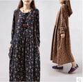 plus size maternity dress floral long sleeve spring woman pregnant clothing 2016 elegant pregnancy long dresses