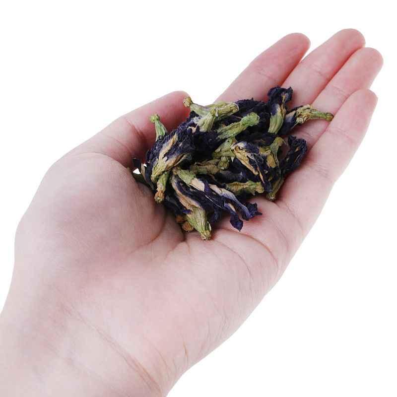 50 г чай голубая бабочка горох чай сушеный Clitoria Kordofan горох цветочный чай UHJSD