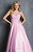 Pink Sexy 2014 One Shoulder Crystal Prom font b Dresses b font Special Occassion Tulle Chiffon