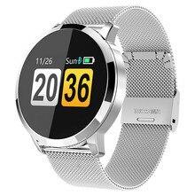 Fitness Montre Smart Watch Hommes Femmes Écran OLED Moniteur de Fréquence Cardiaque Sang Pression Tactile Étanche Sport Montre-Bracelet Pour Android IOS