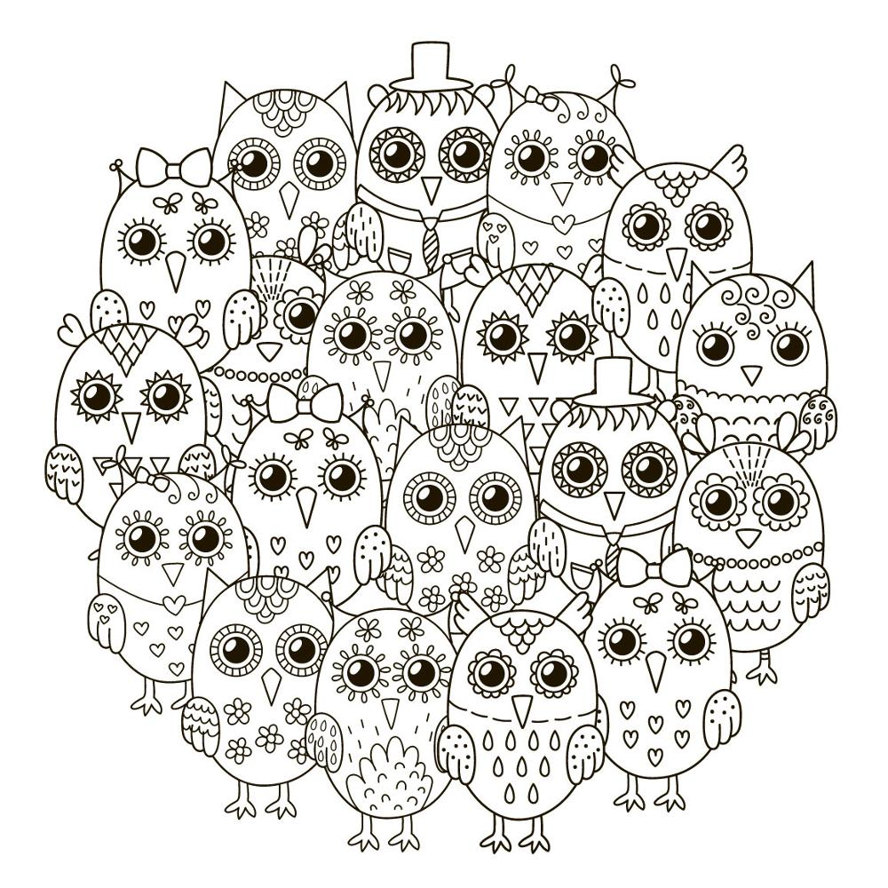AZSG Black big eyed owl Clear Stamps For DIY Scrapbooking Decorative Card making Craft Fun Decoration Supplies 13x13cm