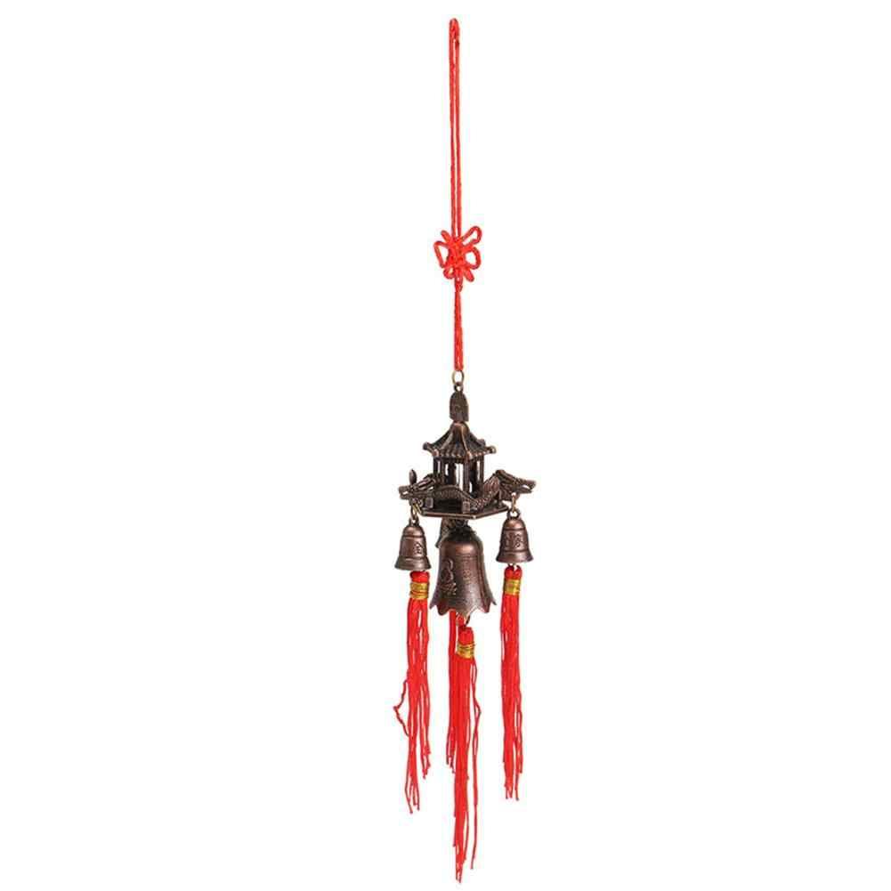 Campanas de viento para Salón al aire libre, patio Boeddhisme, jardín antiguo increíble, patio de cobre, decoración de hogar para colgar en la pared, campanas de viento 4