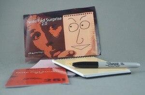 Image 2 - Note Surprise 2.0, accessoires de fête de magicien à fermer, accessoires de fête, trompette, Illusion drôle