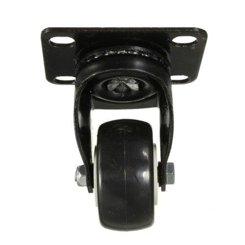 4 pcs Heavy Duty 200kg 50mm Swivel Castor Wheels Trolley Furniture Caster Rubber hho 4x heavy duty swivel rubber castor caster wheels 50mm industrial trolley wheel castors