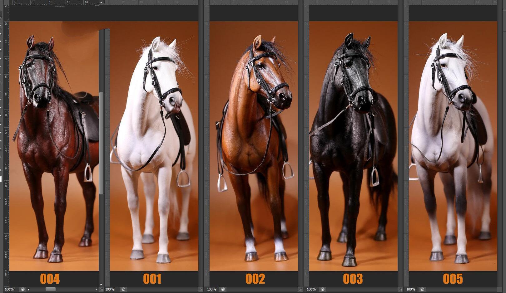 HORSE  Figurine # 3 Metallfigurchen   Setzkasten Mini  Pferd  Figur