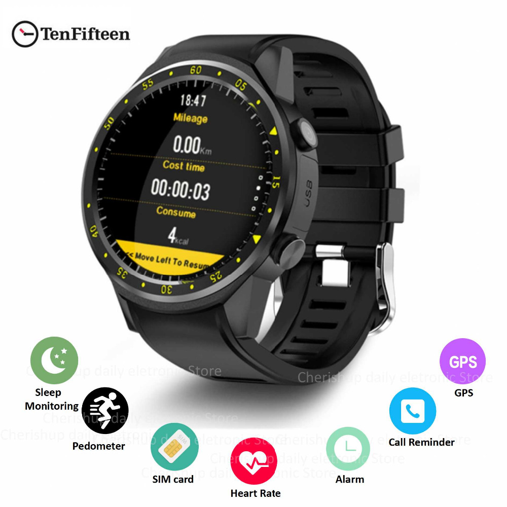 Digital Watches Learned New Smart Watch Men Gps Sports Smartwatch F1 Bluetooth Wristwatch Heart Rate Monitor Fitness Tracker Sim Tf Card For Android Ios Be Novel In Design Watches