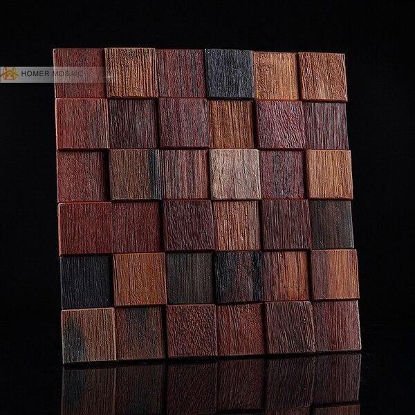popular wooden blocks wall stickers-buy cheap wooden blocks wall