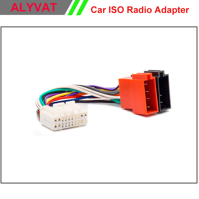 Car Iso Radio Adapter Connector For Honda 1999 Acura1999