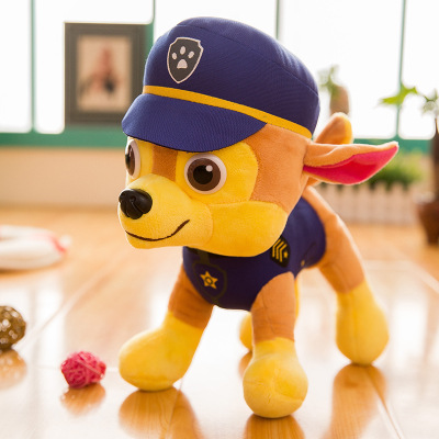 30CM Paw Patrol Kawaii Plush Anime Character Cotton Soft Puppy Canine Dolls TV Broadcast Dog Rescue Toys for Children 2D04 in Stuffed Plush Animals from Toys Hobbies