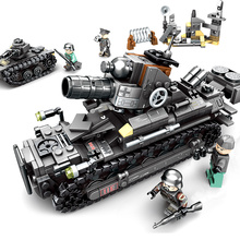 SEMBO Empires of steel Military Super Tank Combat Vehicle Building Blocks Sets Bricks Toys for Children