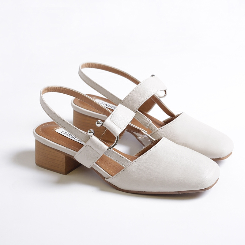 Nouveau kaki Coréenne Femmes De Blanc Choisit Rétro Printemps Chaussures Mode Des 6dpgwq