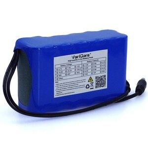 Image 2 - VariCore 12 v 10Ah 18650 li lon battery pack 10000 mah con BMS Bordo di Protezione del Circuito DC 5.5 * 2.1mm + 12.6 v 1A Caricatore
