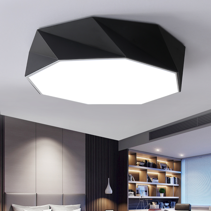 Modern artistic Minimalism LED rhombus Ceiling Light round Indoor down Lamp creative personality study dining roomModern artistic Minimalism LED rhombus Ceiling Light round Indoor down Lamp creative personality study dining room