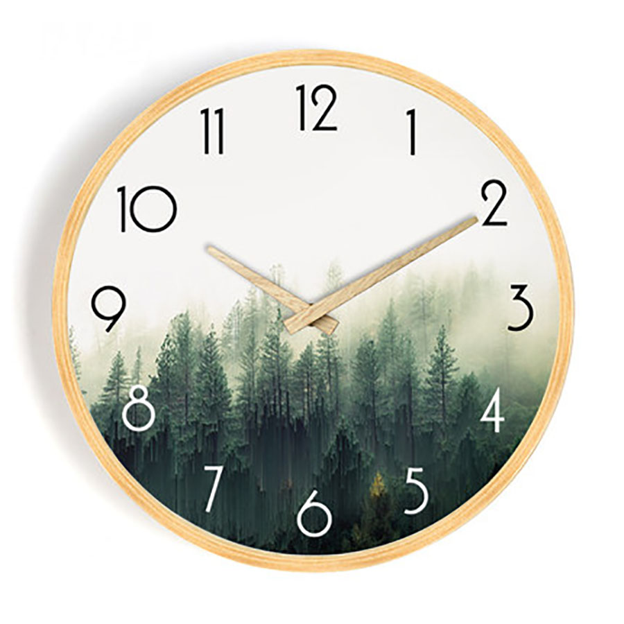 Nordic Wall Clock Home Living Room Modern Minimalist Wall Watch Home Decor Wall Clock Silent Mechanism Best Selling 2019 WZH062