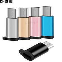 Cherie USB C Adapter Micro USB For Xiaomi mi 9 redmi note 7 Samsung S10 S10+ Carregador Type c Cable Adaptador Tipo C Connectors(China)