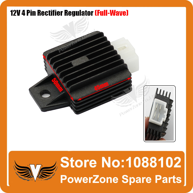 Atv,rv,boat & Other Vehicle 12v 4 Pin Rectifier Regulator 50cc 90cc 110cc 125cc Pit Quad Dirt Bike Atv Buggy Last Style Back To Search Resultsautomobiles & Motorcycles