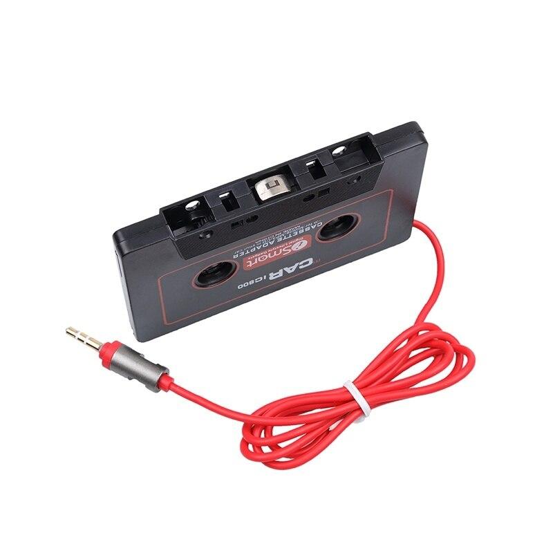 Neueste Auto Kassette Adapter Kassette Mp3 Player Konverter Für Ipod Für Iphone Mp3 Aux Kabel Cd-player 3,5mm Jack Stecker Klar Und GroßArtig In Der Art Unterhaltungselektronik