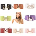 Fashion Choker Necklaces Women Eight Color Leather Rope Layer Collars Necklaces 90's Women Gothic Velvet Choker Necklace BL011