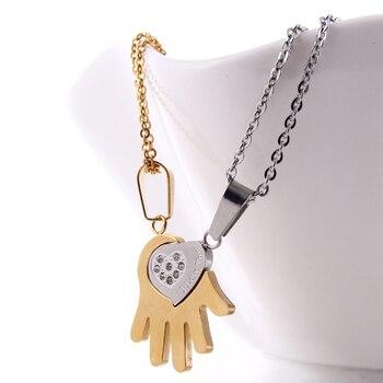 ddfecfbbf4 Пара Цепочки и ожерелья для любителей ювелирных