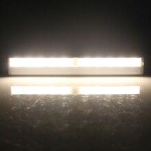 Инфракрасный PIR движения Сенсор светодиодный Carbinet свет авто на/Off Батарея управлением ночник шкаф лампы Путь Кухня