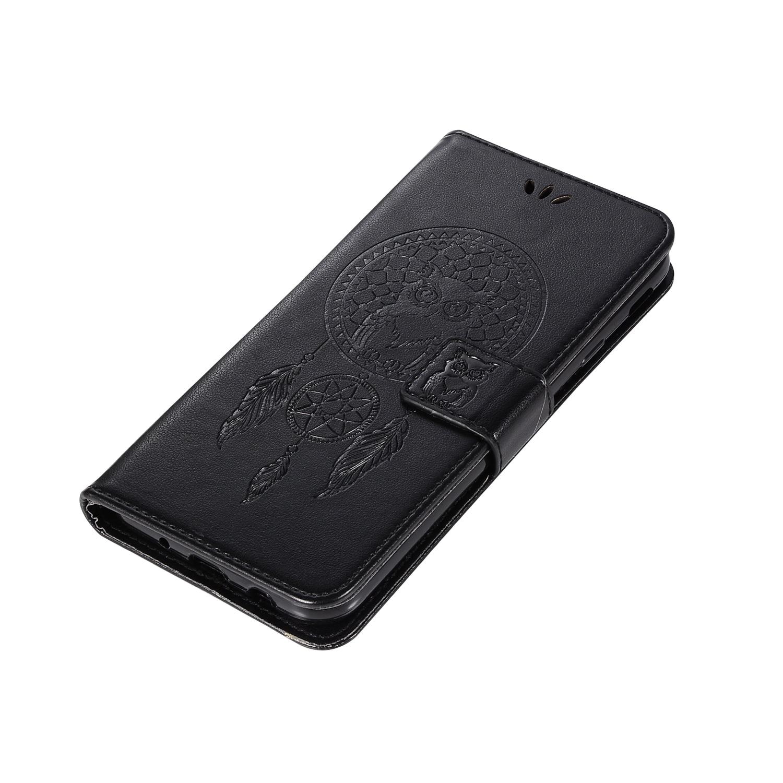 c59c3f51310 Caso de cartera de cuero PU para Samsung Galaxy J3 J5 J7 2017 búho ...