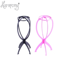 5pcs Free Shipping Wig Stand Holder Folding Plastic Stable Durable Wig Hat Cap Holder Stand Display