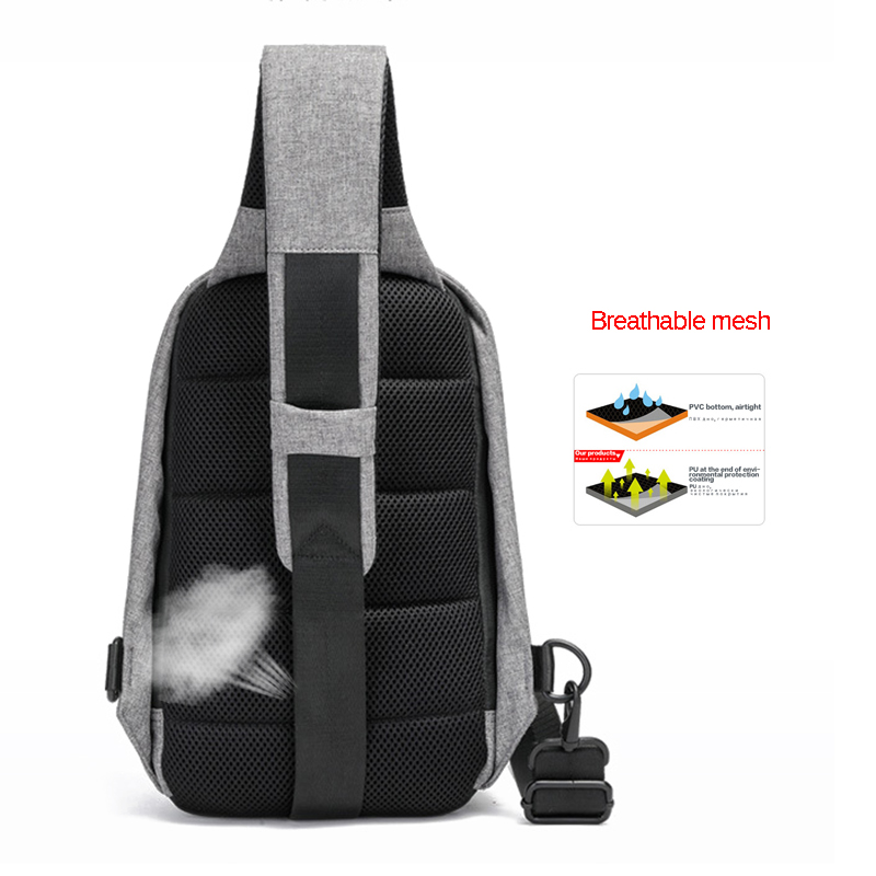 Boshikang New Men Crossbody Bag Travel Fashion Oxford Hot Summer Chest Bag  Male Sling bag Daily Life Daypack Messenger Bag-in Waist Packs from Luggage  ... e750bbb7de