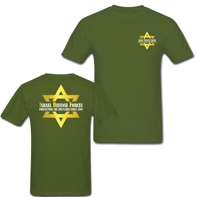 Israel Special Forces 1948 Army Green T-Shirt Men Women High Quality Tee  Shirt Homme Patriotism Custom Design Summer Tops ee6560287f