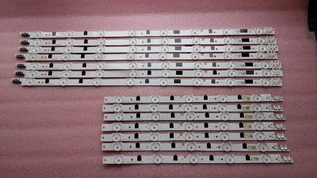 4 pièces/lot 100% nouveau UA39F5088AR UA39F5008AR LED bande pour SAMSUNG 2013SVS39F L8 R5 REV1.9 130212 D2GE-390SCA-R3 D2GE-390SCB-R3