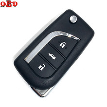 HKOBDII Good Quality 315MHz  With 4D67/G chip 3 buttons Remote Car Key For Toyota Vios Corolla Before 2013