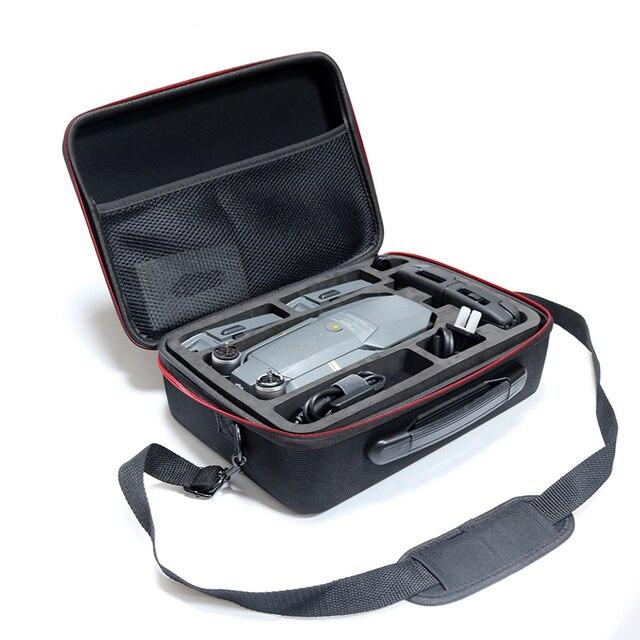 Mavic pro batteria del telecomando pezzi di ricambio di stoccaggio sacchetto trasporta la cassa della borsa a tracolla singola cornici e articoli da esposizione portatile per dji mavic pro