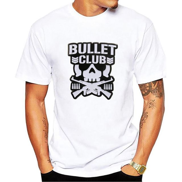 ce85d2fd29ab5 NEW Bullet Club New Japan Pro Wrestling Puroresu Njpw 2 Side Black T-Shirt  Men T Shirt Cotton Tee