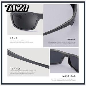 Image 5 - 20/20 Brand Design Vintage Polarized Sunglasses Men Fishing Shades Driving Male Retro Square Sun Glasses Oculos Eyeglasses