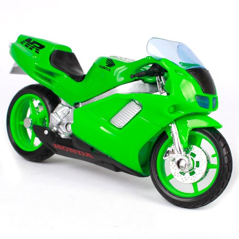 Maisto 1:18 Honda NR motorcycle toy bright green motorbike model for enshrining motorcar diecast motorcycle gift for child 305