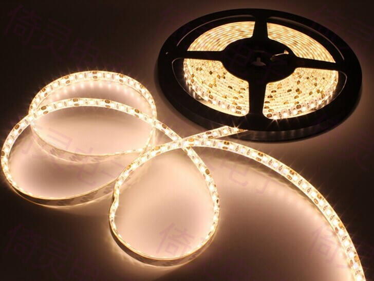 120leds/m 2835 LED strip tape light 5m 12V Waterproof Free shipping