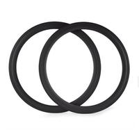 2015 High Quality Carbone 700c 50mm Road Bicycle Carbon Tubuless Rims 27mm Width For Road Racing