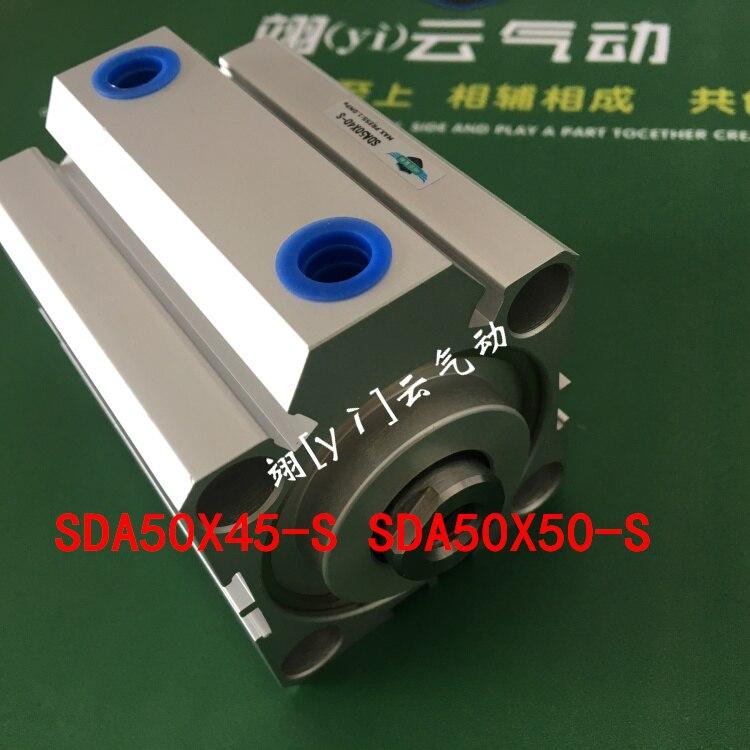 SDA50X45-S SDA50X50-S AIRTAC Thin type cylinder air cylinder pneumatic component air tools diameter 50mm su63x500 s su63x550 s su63x600 s airtac air cylinder pneumatic component air tools su series