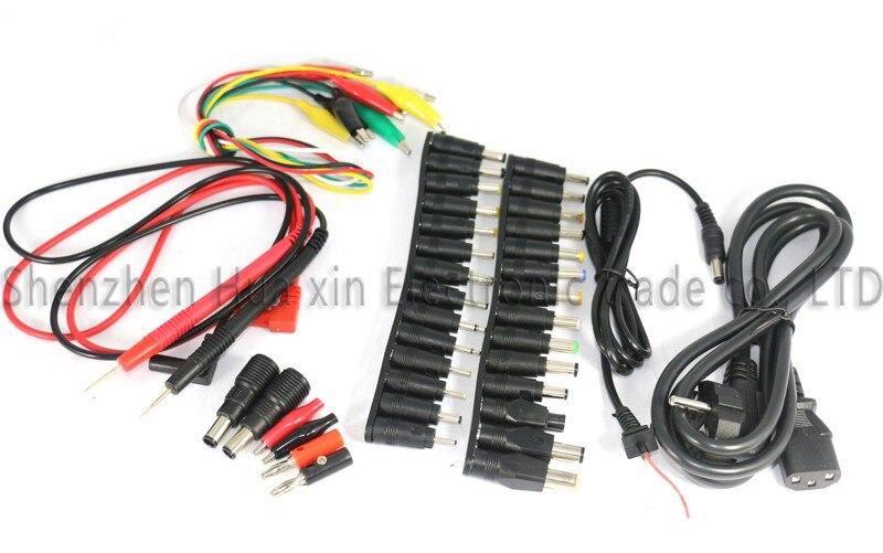 CPS-3205 II Compacte De Précision Numérique DC Alimentation + 39 pièces DC Jack + 10A sonde 0 ~ 32V 0 ~ 5A 0.01 V/0.001A pour Laboratoire de réparation d'ordinateur - 3