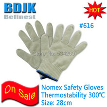 Nomex 300 Degree High Temperature and Anti-Cut Protective Gloves Independent Packing