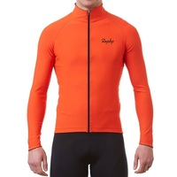 RCC Raphp Orange quality Winter Spring Thermal fleece Reflective Cycling Jersey long sleeve Cycling clothing Classic cool design