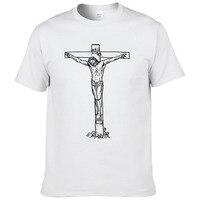 2018 T Shirts Men Novelty Personality Tshirts Christian Catholic 302