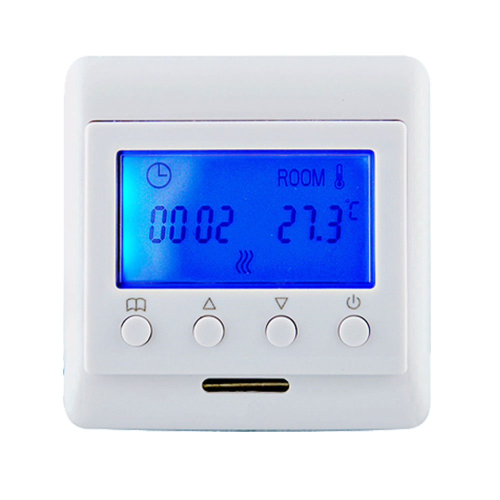 Z-Wave Plus Thermostat Floor Heating Control Wireless Electric Heating System work Fibaro and Vera Smart Home AutomationZ-Wave Plus Thermostat Floor Heating Control Wireless Electric Heating System work Fibaro and Vera Smart Home Automation