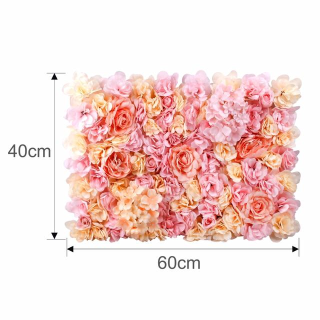 Artificial Flower Backdrop for Wedding Decoration
