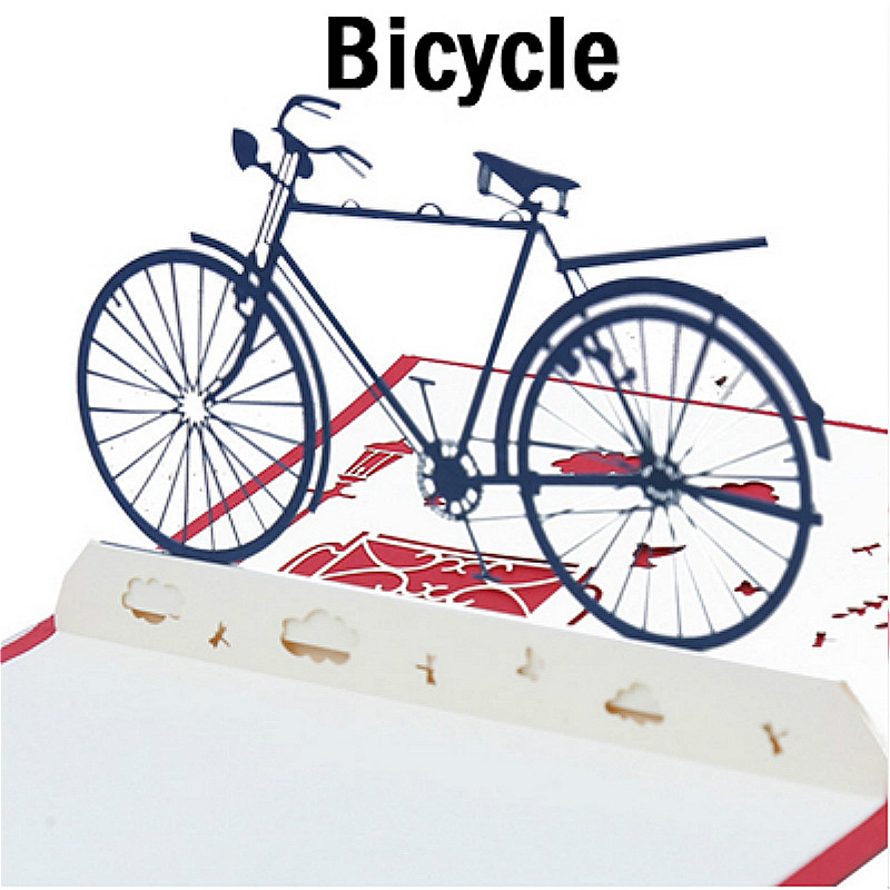 Buy bicycle christmas cards and get free shipping on AliExpress.com